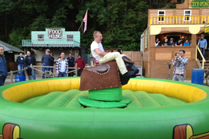 Bull Riding Anlage